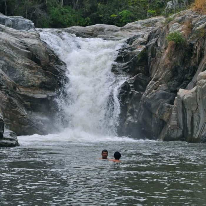 Balneario or natural swimming pool at Pasabien in Zacapa, Guatemala