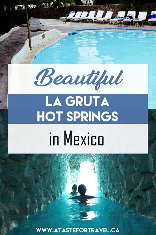 Beautiful La Gruta Hot Springs San Miguel de Allende Mexico