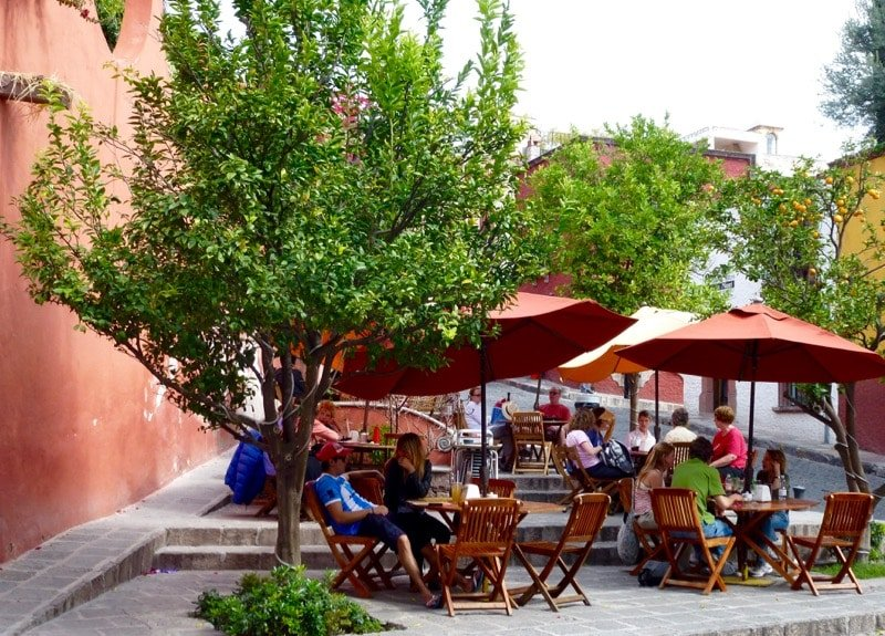San Miguel de Allende coffee shop