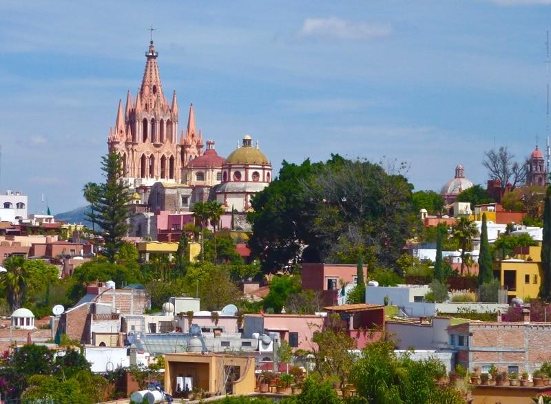 San Miguel de Allende is a UNESCO World Heritage Site