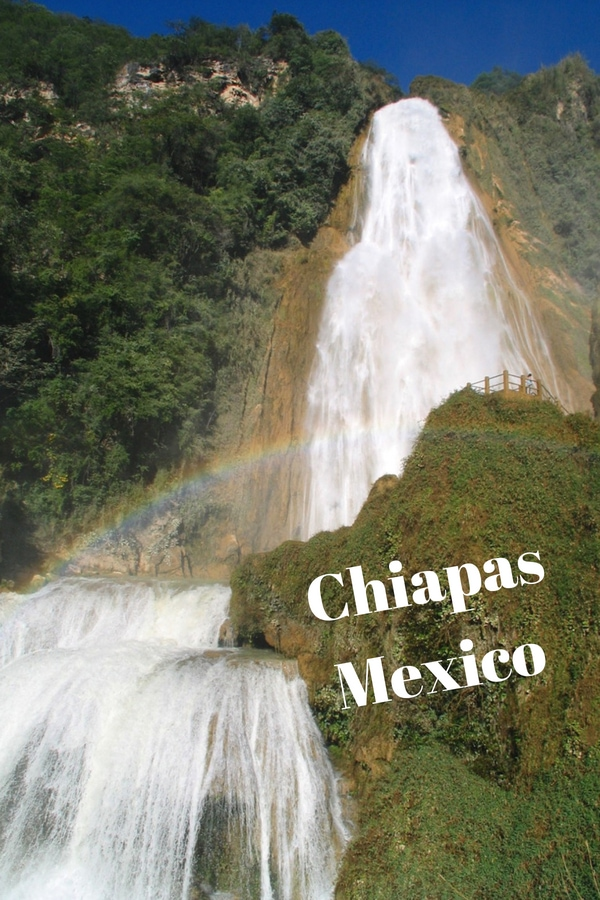 A hike to El Chiflon waterfall is one of the top day trips to do in San Cristobal de las Casas,