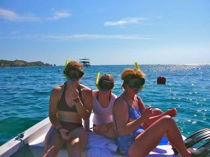 Snorkeling in Huatulco at San Agustin Bay Mexico