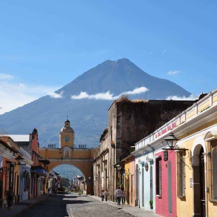Study Spanish in Guatemala near the Arco de Santa Catalina