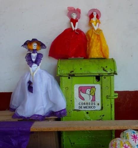 Mailbox in Patzcuaro, Mexico