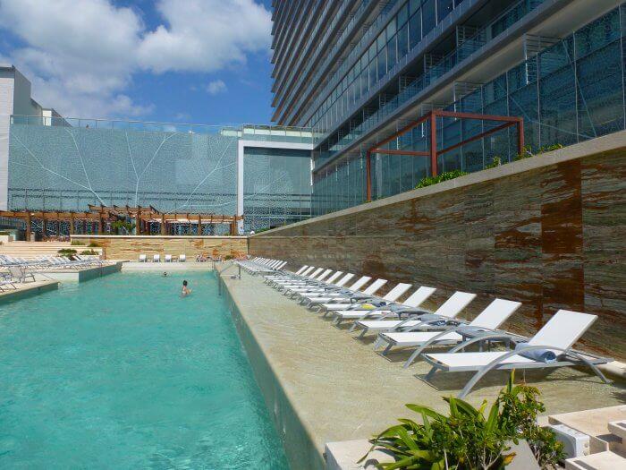 Terrace Pool at Secrets The Vine Secrets all inclusive resorts.