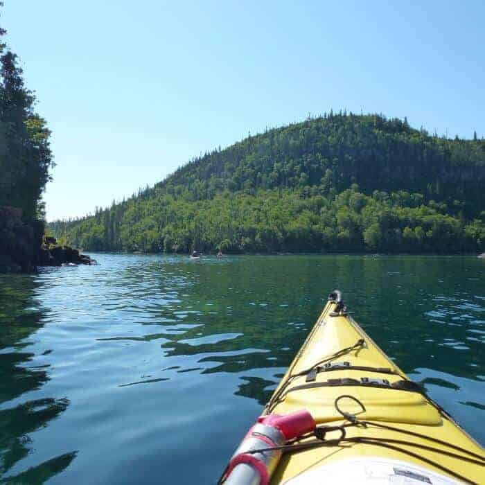 Kayaking the Lake Superior archipelago
