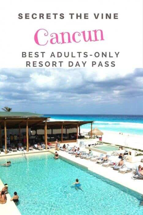 Everything else you need to know about scoring a luxury resort Day Pass to adults-only Secrets The Vine Cancun