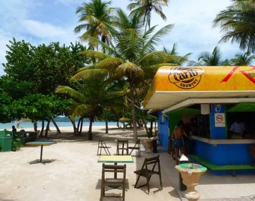Bar at Pigeon Point in Tobago