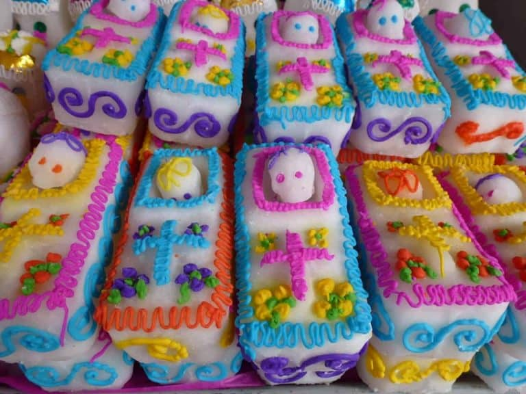 Sugar candies for Day of the Dead