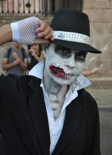 Michael Jackson ghoul in Morelia