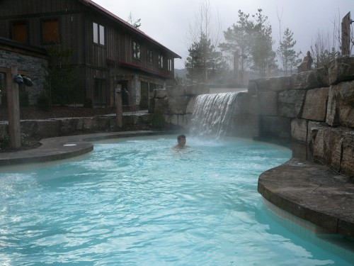 Enjoy winter at Scandinave Spa Blue Mountain