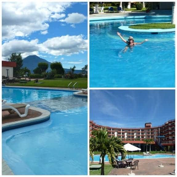 Pool at Hotel del Lago Panajachel Guatemala