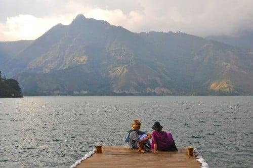 Dock in San Pedro de la Laguna