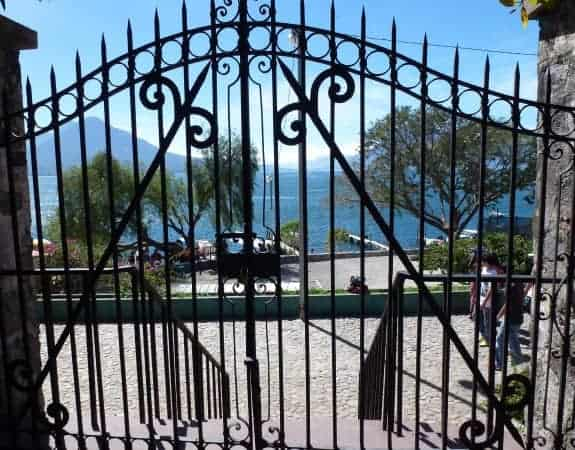 Gate at Hotel Porta del Lago