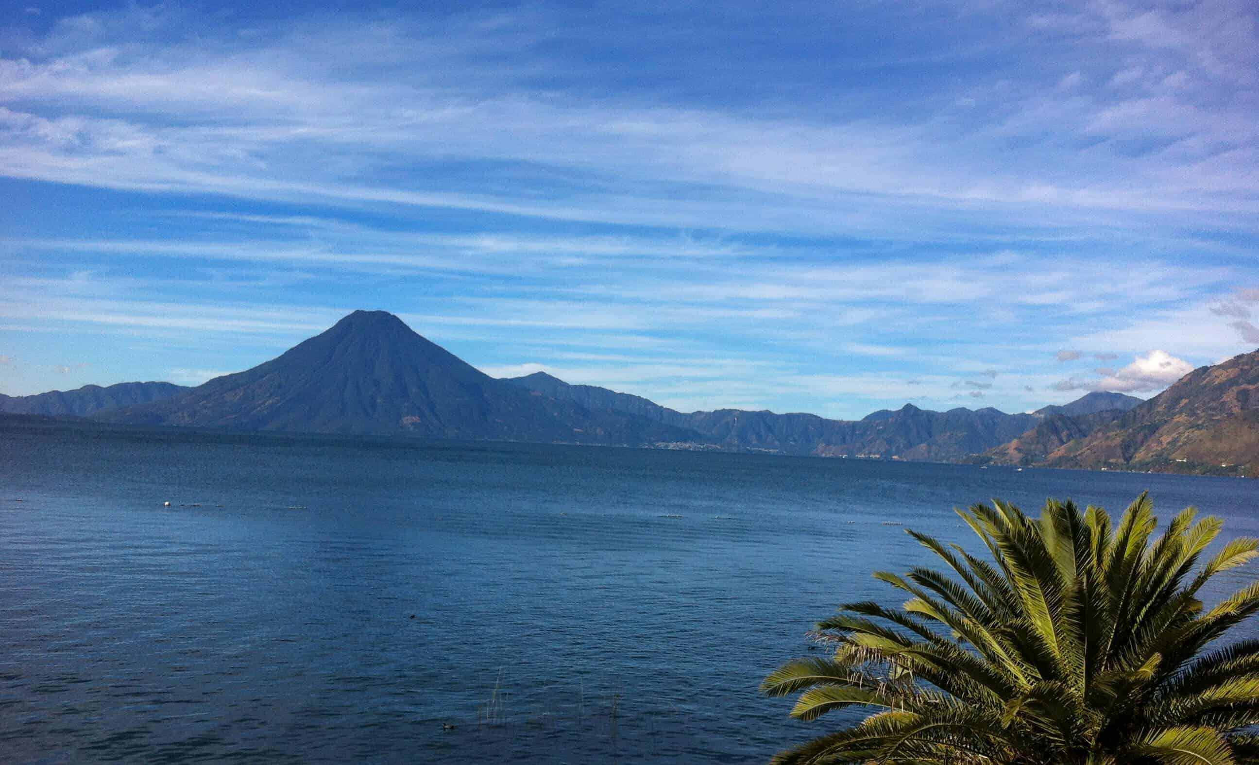 Lake Atitlan in the morning