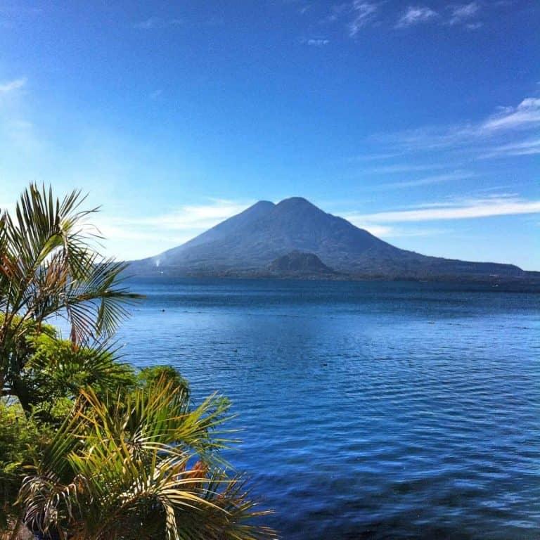Panajachel on Lake Atitlan, Guatemala