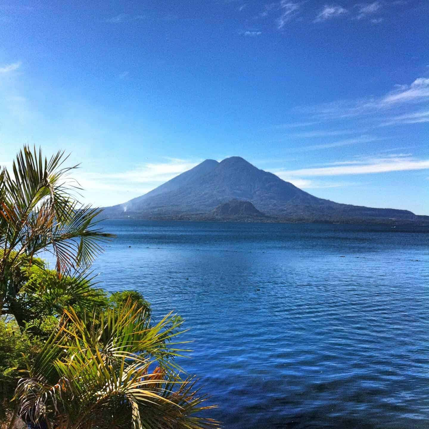 Panajachel on Lake Atitlan, Guatemala