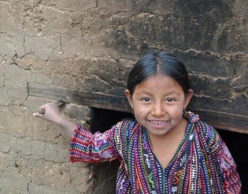 Young girl near Concepcion, Solola Guatemala