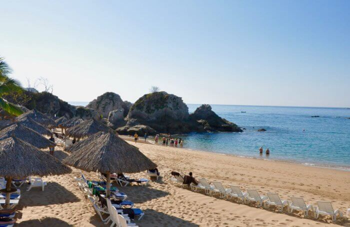 Tangolunda Bay Beach at Dreams Huatulco