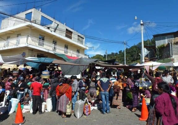 Market in Solola