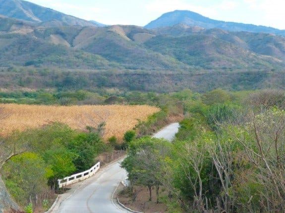 Picturesque valley near San Vicente, Zacapa, Guatemala