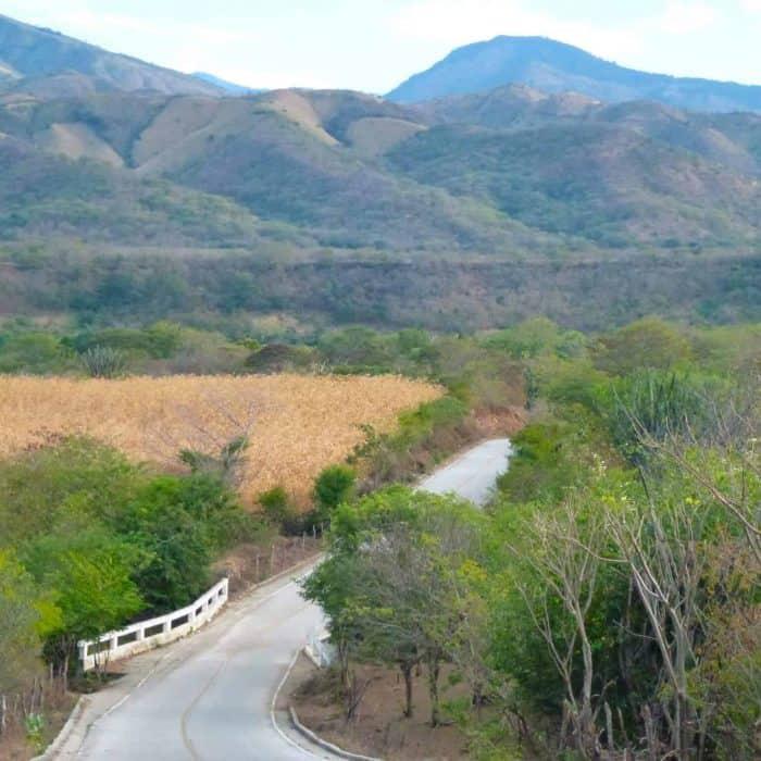 Picturesque valley near San Vicente, Zacapa, Guatemala