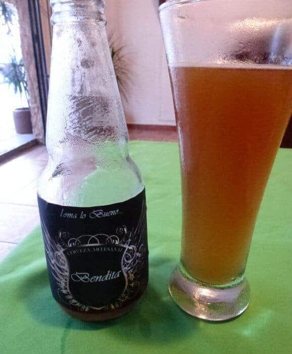 Benditas bee a Mexican craft beer from Oaxaca r is brewed in Santa Catarina Juquila, pilgrimage site of the Virgin of Juiquila