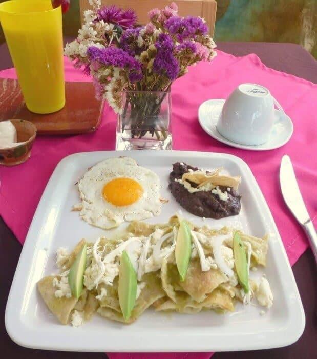Breakfast at Mozart y Macondo Puerto Escondido