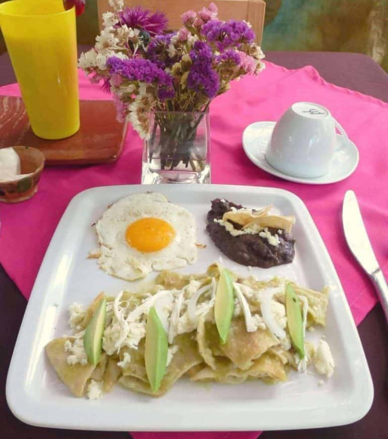 Breakfast at Mozart y Macondo Puerto Escondido