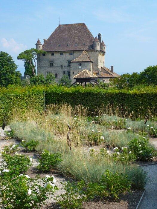 Medieval Garden of Five Senses in Yvoire