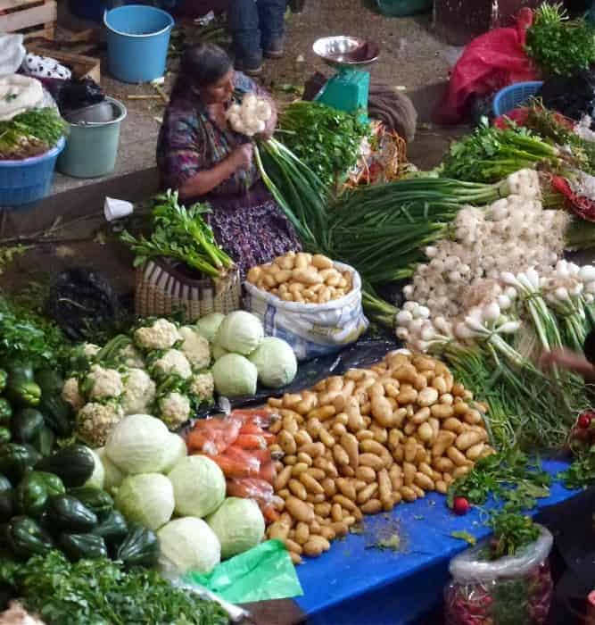Market in Chichicastenango Guatemala