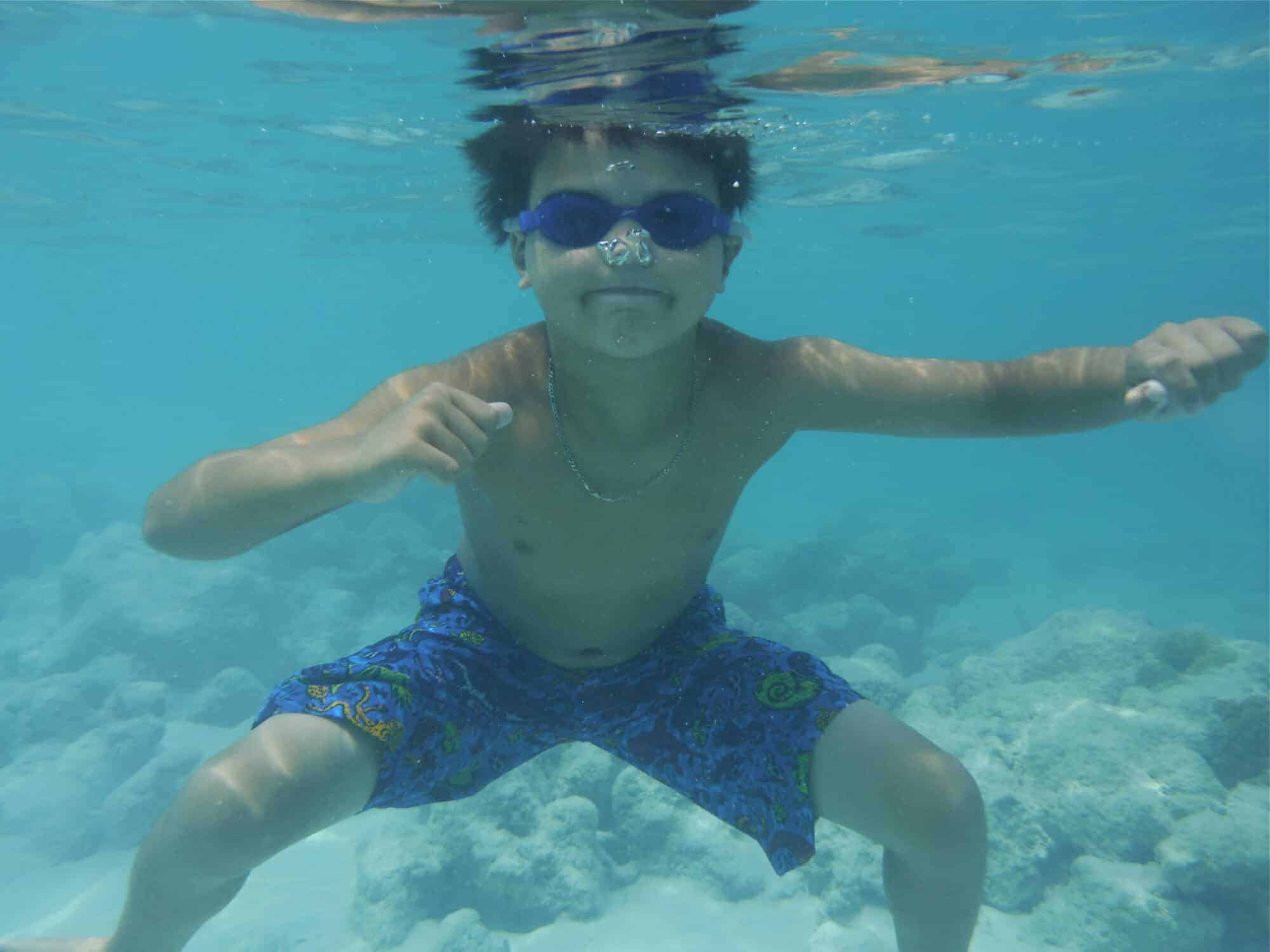 Underwater photo in Turks and Caicos taken with Fujifilm XP70