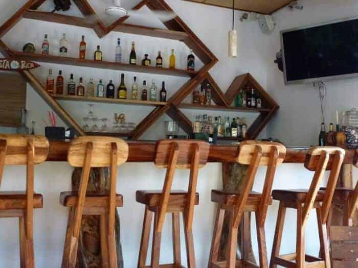 Bar at One Love Restaurant