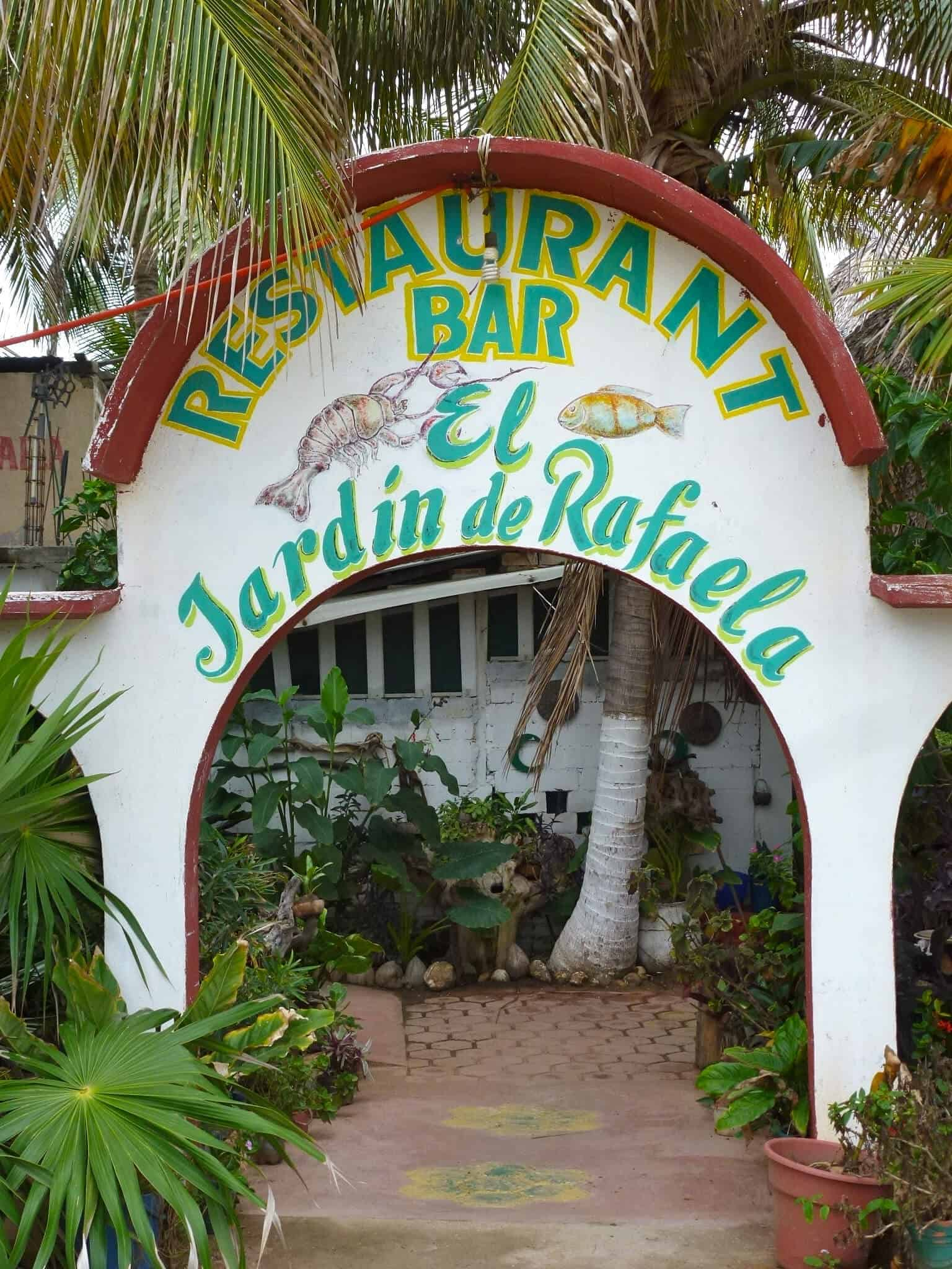 El Jardin de Rafaela, Puerto Escondido Oaxaca