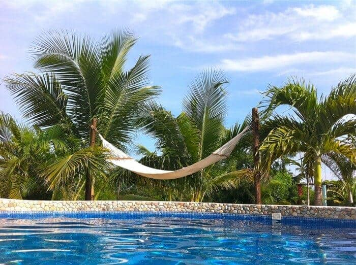 Hammock at Gecko Rock Resort Santa Elena Oaxaca Mexico