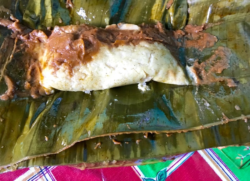 How to eat a tamale