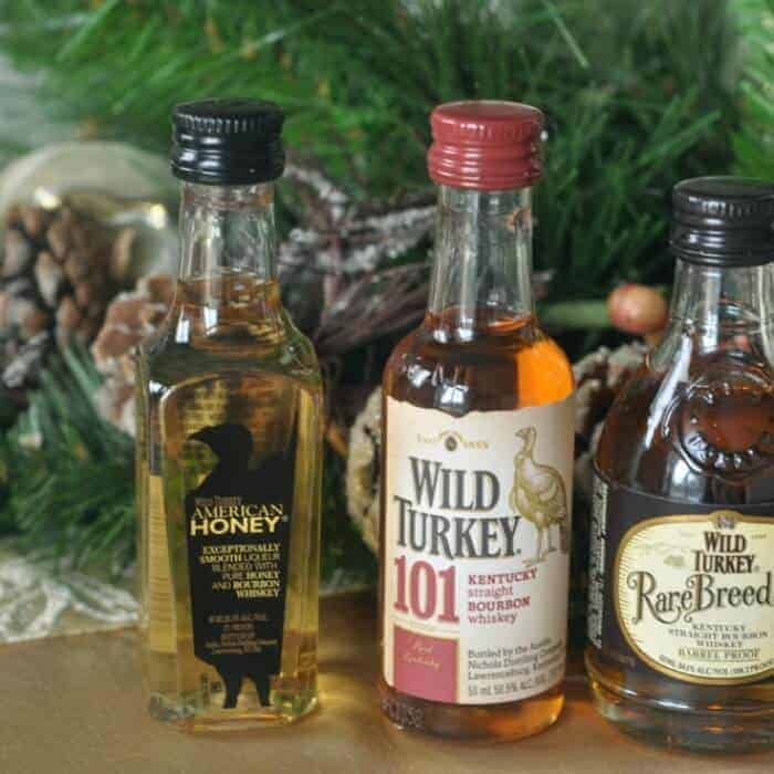 A souvenir sampler of Wild Turkey bourbons