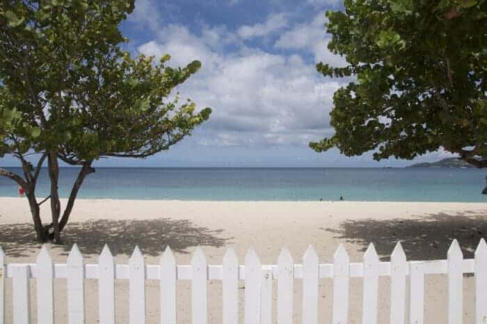 Beautiful Grand Anse Beach is 2.5 miles long and perfect for swimming