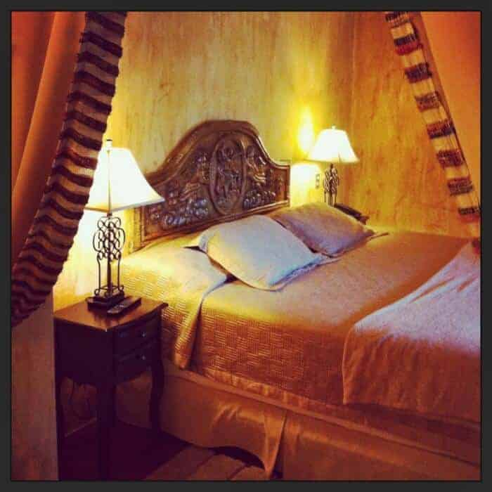 Luxurious bedroom at Hotel Cirilo Antigua Guatemala