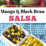Mango and Black Beans Salsa Pinterest