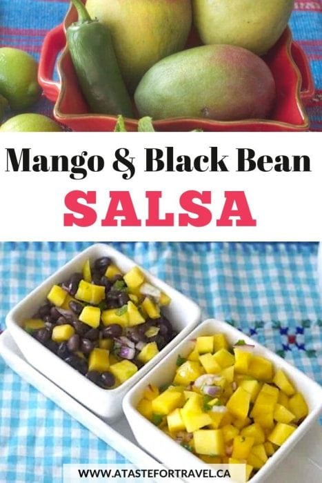Mango and Black Beans Salsa Pinterest
