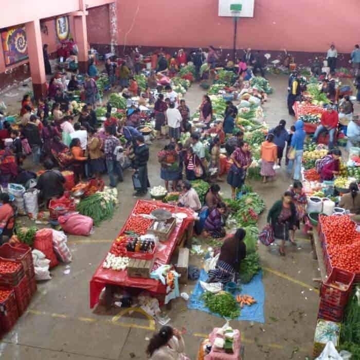 Market in Chichicastenango , Guatemala