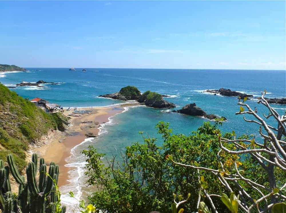 The Coast of Oaxaca in Mazunte, Mexico