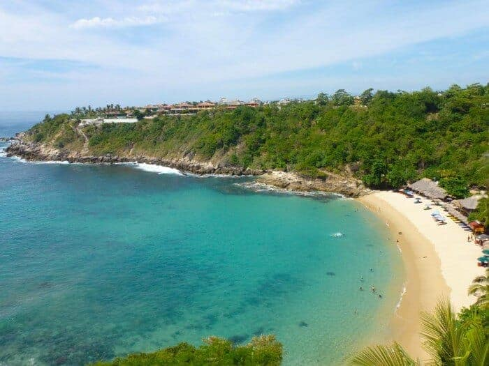 Beautiful Carrizalillo Beach in Puerto Escondido