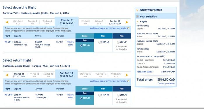 Great deals on WestJet long-term stays