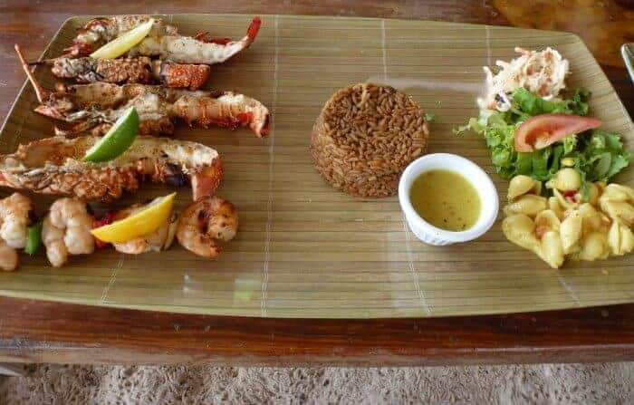 Sandy island lobster