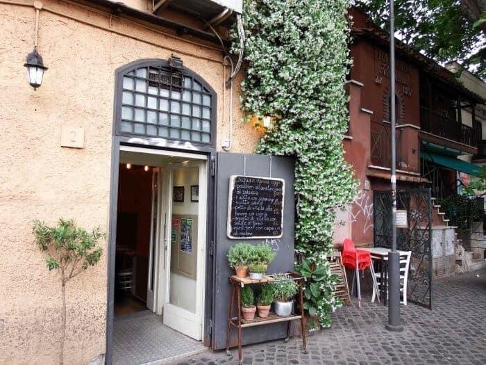 Restaurant in Monte Testaccio