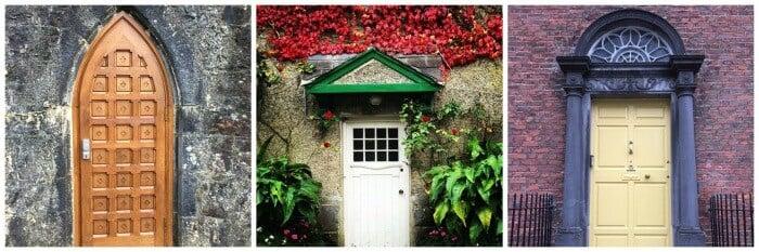 Country doors in Ireland