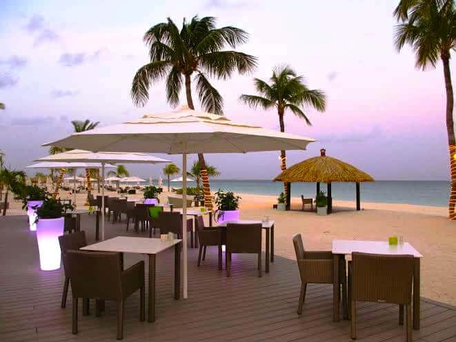 Eco-friendly and beautiful Elements restaurant , Aruba