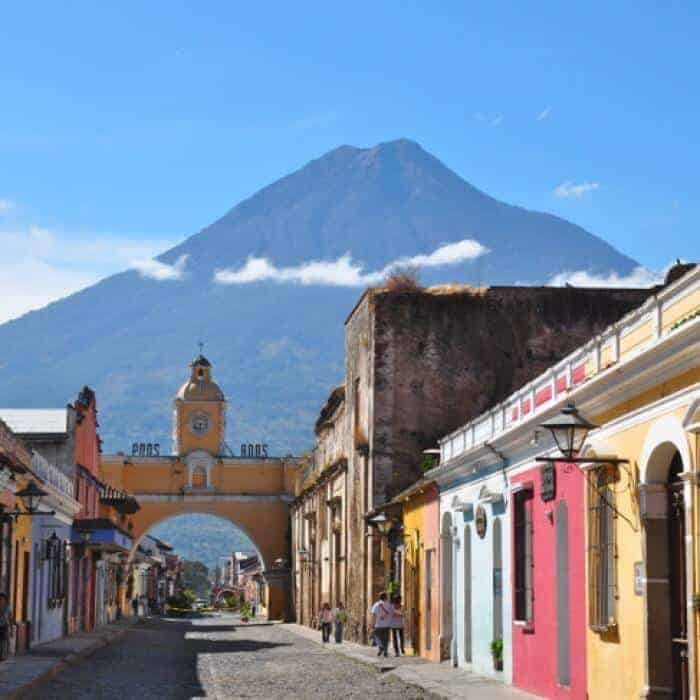 Antigua Guatemala is a popular destination to study Spanish